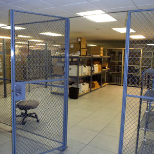Interior Security Fencing
