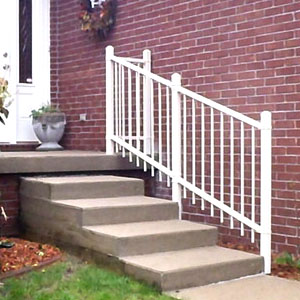 Ornamental Iron Handrail
