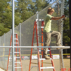 12ft Galvanized Chain Link