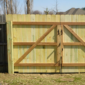 Double Gate with Cedar Framework